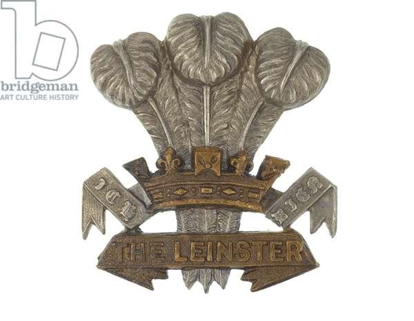 Cap badge, 1881-1922 (metal)