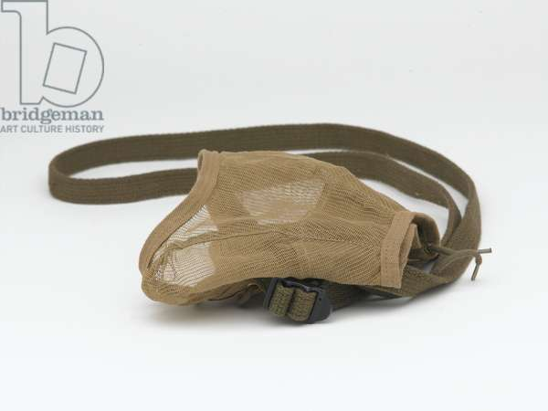 Pigeon carrying vest, 1939 circa (fabric)