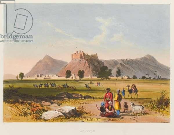 'Kwettah', 1839 circa (coloured lithograph)