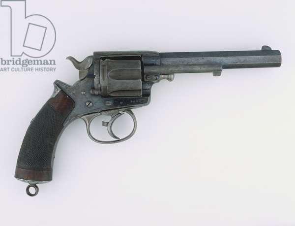 Tranter .450 inch double-action centre-fire revolver, 1878 circa