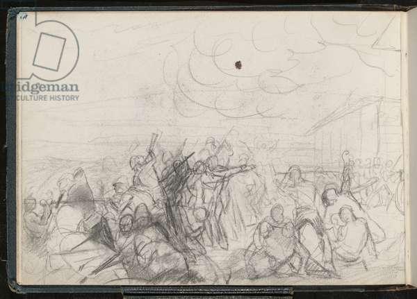 Rorke's Drift, 1879 (pencil)