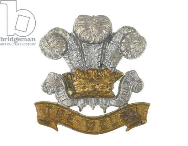 Cap badge, c.1900 (metal)