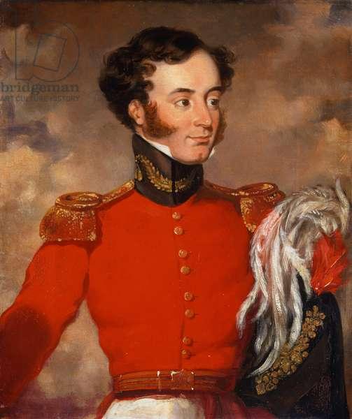 Captain Bulstrode Bygrave (1802-73) c.1838 (oil on canvas)