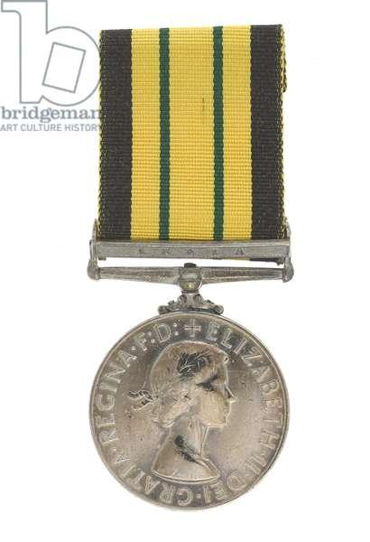 Africa General Service Medal, 1902-56 (metal & ribbon)