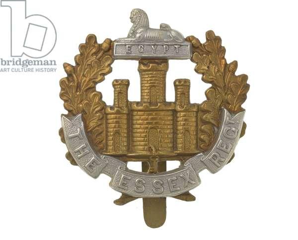 Cap badge, c.1914 (metal)