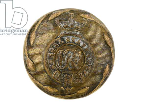 Button, Bengal Staff Corps, 1876-1891 (gilt)