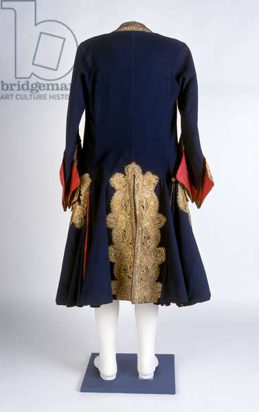 General Officer's or Marshal's coat, 1690 circa-1710 circa  (fabric)