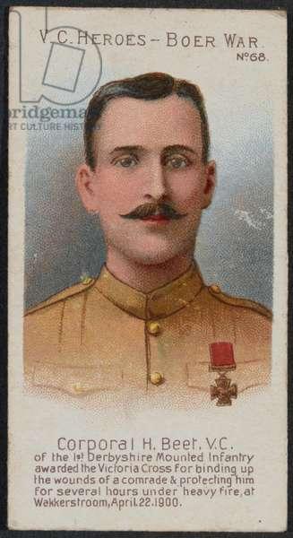 Corporal Harry Churchill Beet VC (litho)