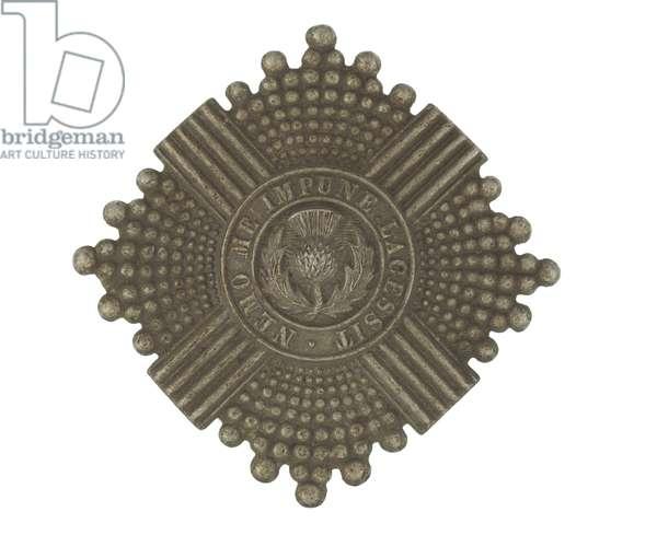 Cap badge, c.1910 (metal)