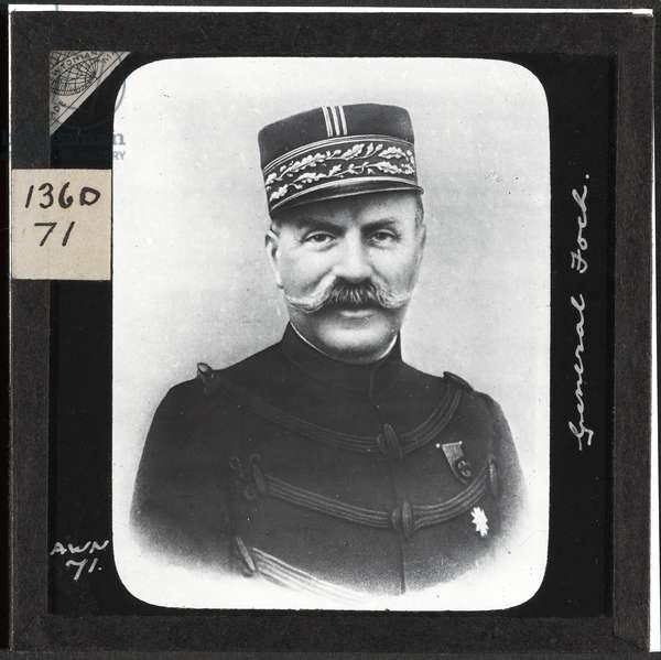 General Foch, 1914 (lantern slide)