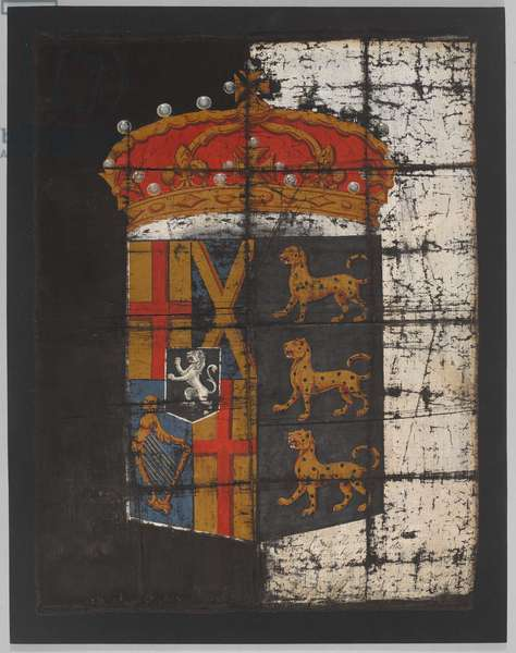 Oliver Cromwell's funeral banner, c.1658 (banner)
