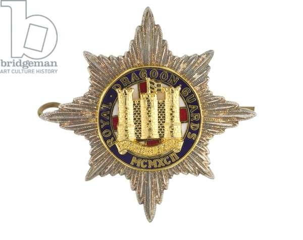 Cap badge, 1992 (metal)