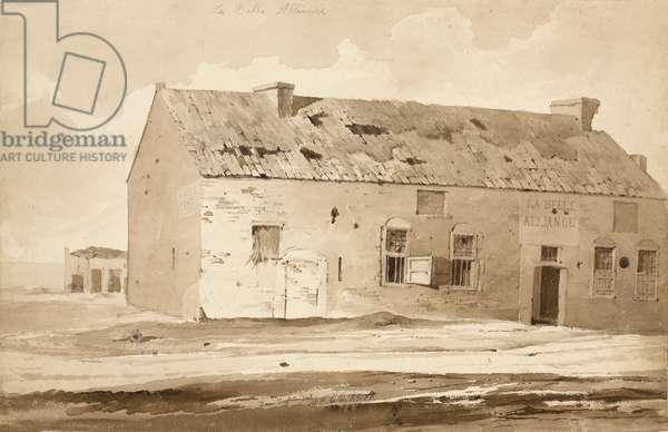 'No 6 La Belle Alliance', 1815 (w/c & pencil on paper)