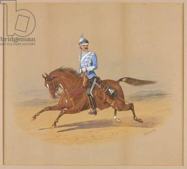Colonel Gervase Francis Newport Tinley, 1st Bombay Lancers (w/c)