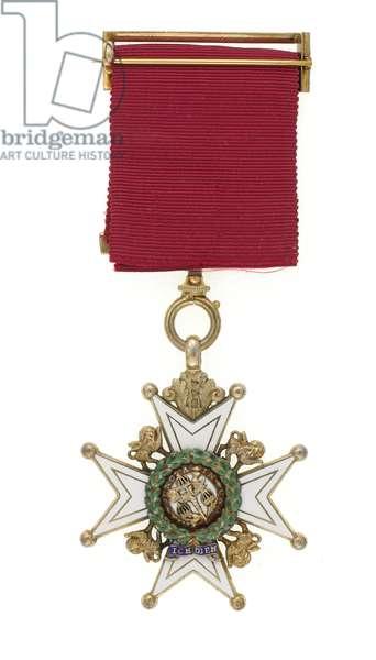 Order of the Bath, Badge of a Companion, Major General Euston Henry Sartorius, 59th (2nd Nottinghamshire) Regiment, 1897 (metal)