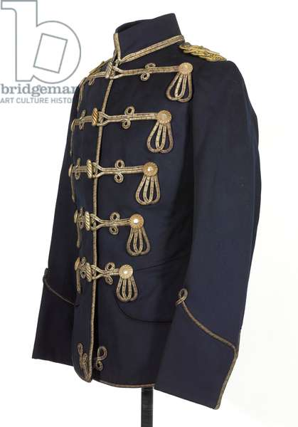 Tunic, HRH The Duke of Connaught, 3rd von Zieten Hussars, German Army, pre-1914 (tunic)