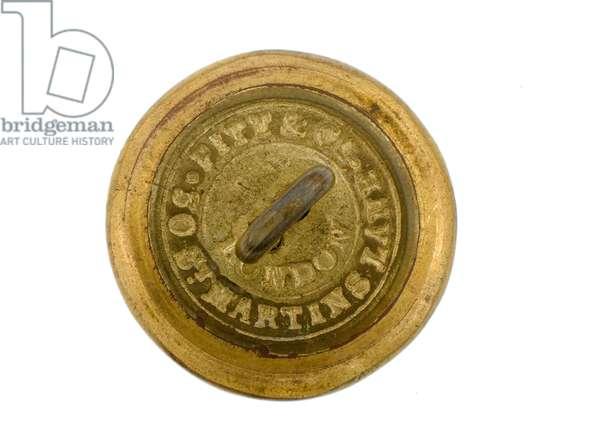 Button, Bengal Staff Corps, 1876-1891 (gilt)