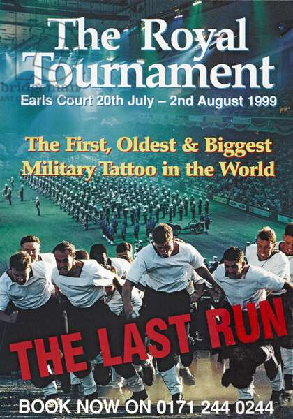 Poster for the Royal Tournament, 1999 (colour litho)