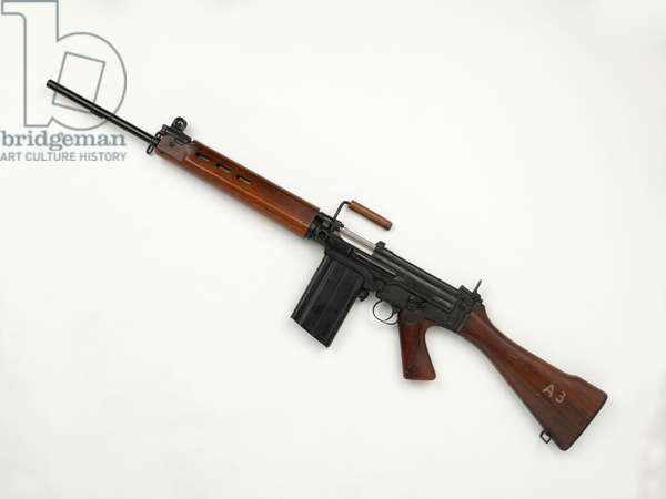L1A1X8 E1 Model 7.62 mm self-loading rifle (rifle, self-loading, 7.62 mm L1A1 X8 E1 Model A)
