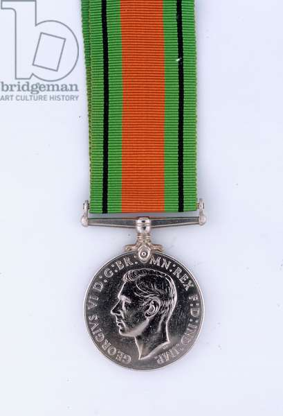 Defence Medal 1939-45, Colonel J A Stafford Fearfield, Royal Signals, Force 136, Special Operations Executive (metal)