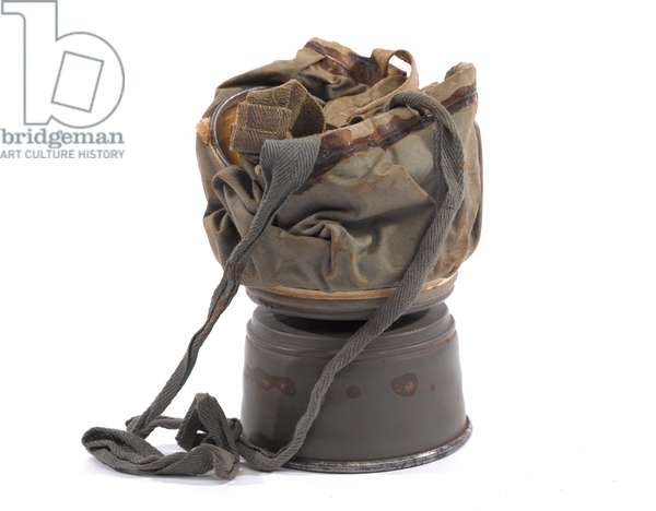 German army respirator, 1917