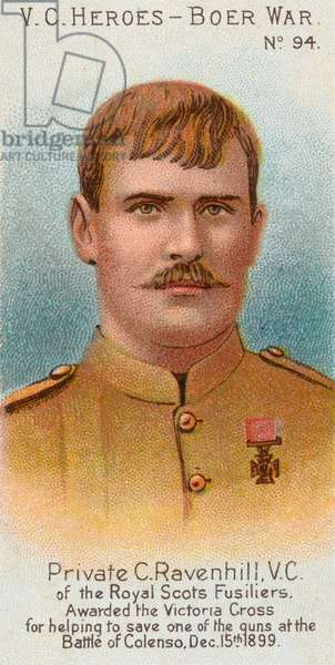 Private George Ravenhill VC (litho)