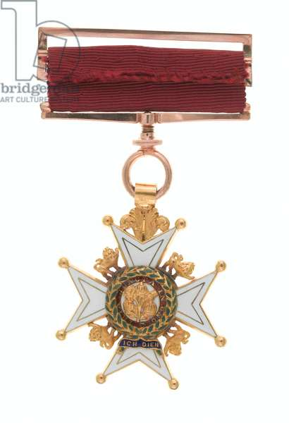 Order of the Bath, Knight Commander Star and Companion Badge, Colonel Joseph Orchard, 1st Regiment of Bengal European Light Infantry (Order of the Bath, badge)