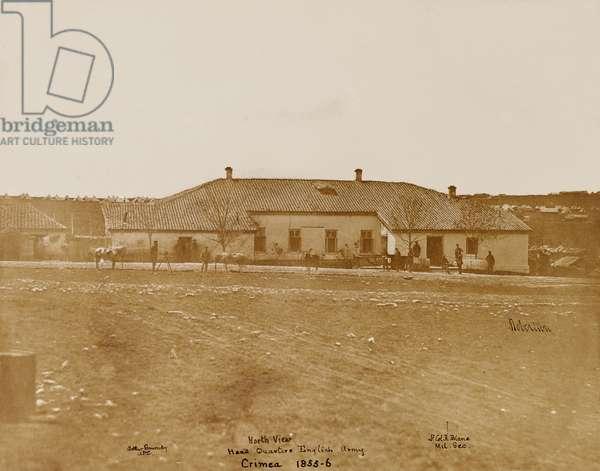 North View Head Quarters English Army, c.1855 (photo)