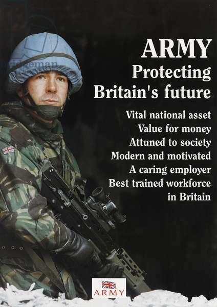 Army. Protecting Britain's future', 1993 (photolitho)