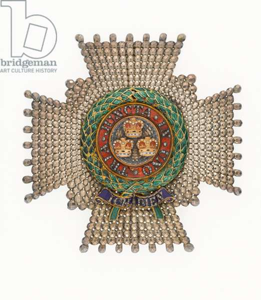 The Most Honourable Order of the Bath, Star of a Knight Commander, awarded to Lieutenant General Sir William Inglis, 1825 (metal)