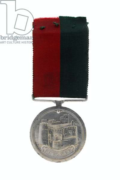 Ghuznee Medal 1839,Major-General Sir Abraham Roberts (metal)