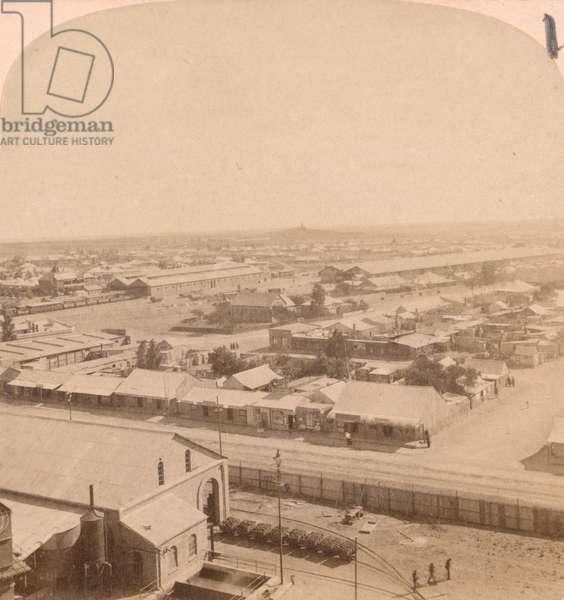 Kimberley, South Africa, 1899 (b/w photo)