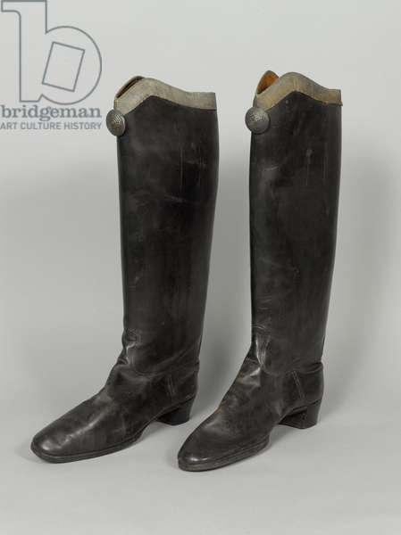 Boots, 3rd von Zieten Hussars, worn by HRH The Duke of Connaught, pre-1914 (boot)