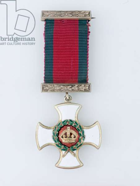 Distinguished Service Order awarded to Lieutenant H B Abadie, 11th (Prince Albert's Own) Hussars, 1900 (metal)