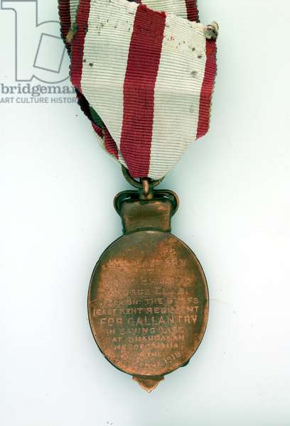 Albert Medal awarded to Lieutenant Bernard Ellis, 1/5th Battalion, The Buffs (East Kent Regiment), 1918 (metal)