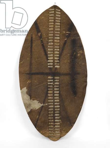 Zulu ishilunga, 1879 (cowhide)