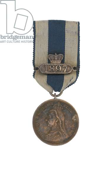 Queen Victoria Diamond Jubilee Medal 1897 awarded to Captain John Grant Malcolmson VC, 3rd Regiment of Bombay Light Cavalry (metal)
