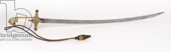 Presentation sword, Brigadier General Duncan MacDougall, 1836 (sword, presentation)