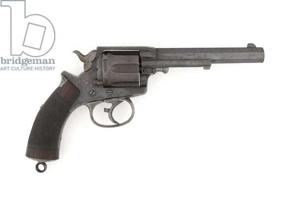 Tranter .450 inch double-action centre-fire revolver, c.1878 (revolver, centre-fire, Tranter MK I, .450 in Army double action)