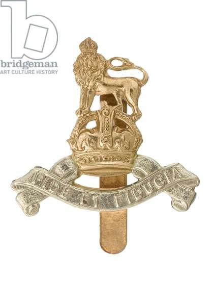 Cap badge, c.1945 (metal)
