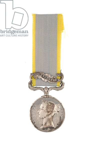 Crimea Medal 1854-56, Private Thomas Connell, 88th Regiment of Foot (Connaught Rangers) (metal)