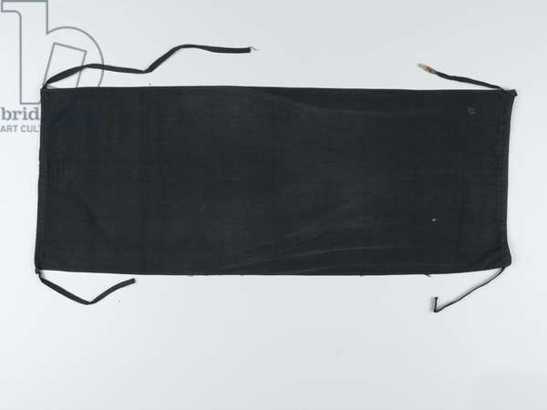 Japanese loin cloth worn by Fred Mody, 5th Battalion, The Suffolk Regiment (fabric)