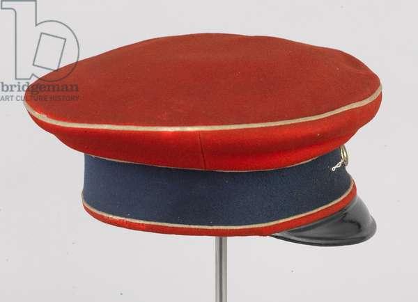 Forage cap, HRH The Duke of Connaught, 3rd Zieten Hussars, German Army, pre-1914 (forage cap)