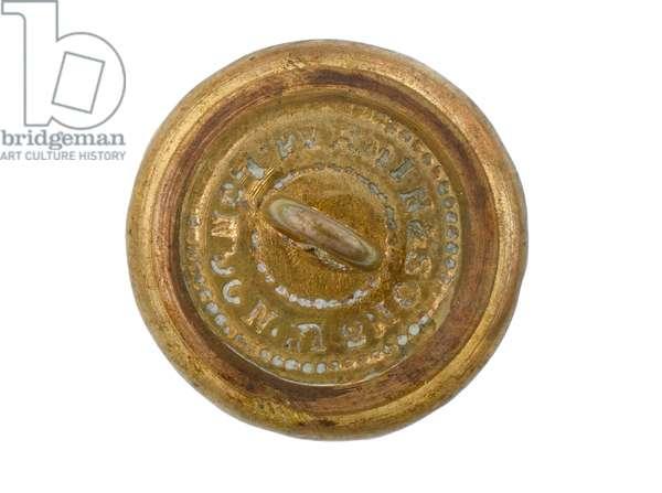 Button, Madras Staff Corps, 1876-1891 (gilt)