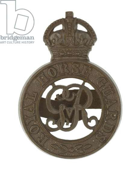 Cap badge, c.1914-36 (metal)