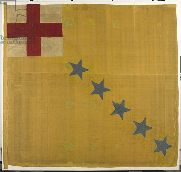 4th Captain's Colour, Sir Gell's Regiment of Infantry, 1646 circa (fabric)
