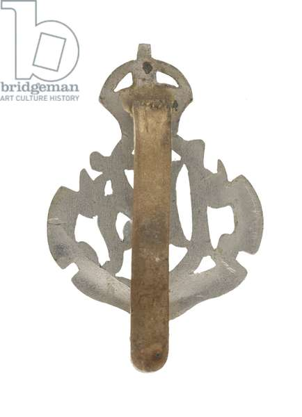 Cap badge, Punjab Light Horse, 1901-1947 (metal)