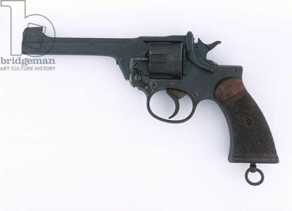 Enfield revolver .38 inch No 2 Mk I, Lieutenant K Baxter, Middlesex Regiment, 1944
