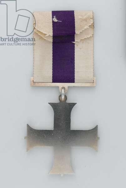 Military Cross, 2nd Lieutenant R P Hallowes VC, MC, Duke of Cambridge's Own (Middlesex Regiment), 1915 (metal)