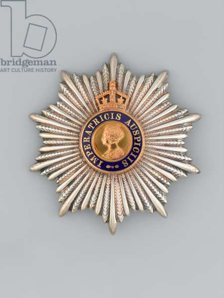 Order of the Indian Empire awarded to Major-General Sir Heerajee Cursetjee, Indian Medical Service, 1946 (metal)